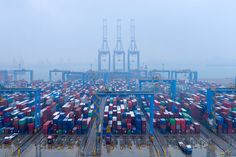 China's February exports seen falling most in two years, imports down again : Reuters Poll All News, News Today, Asian Market, Economic Systems, Latest World News, News Latest, Global Economy, Silk Road, San Francisco Skyline
