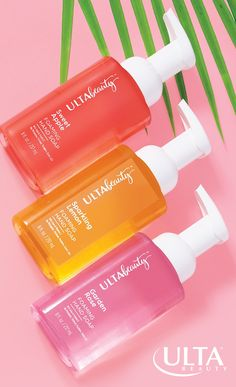 Candy-colored soaps: check. Amazing scents: check. Paraben, phthalate and gluten-free: check. Ulta Beauty foaming hand soap comes in over 20 scents like Garden Rose, Sparkling Lemon, Sweet Apple, Lavender Mint and more. Bonus: aloe and vitamin E to moisturize, soothe and nourish. Shop away. Ultra Beauty, Smell Good, Body Wash, Aloe, Gluten Free, Bath And Body, Lotion, Chill, Bathing