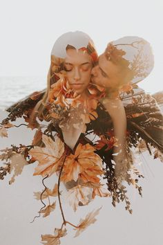 double exposure couples engagement beach and floral photoshoot wedding photography and videography Couples Engagement Double Exposure Photoshoot Wedding Poses, Wedding Photoshoot, Photoshoot Beach, Wedding Ideas, Fall Wedding, Wedding Trends, Wedding Ring, Creative Photography, Couple Photography