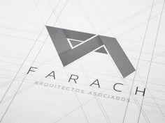Farach Arquitectos│Corporate & Brand Identity on Behance