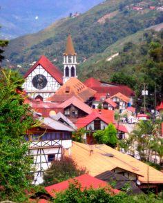 perierga.gr - Γραφικό αλπικό χωριό στη... Βενεζουέλα!