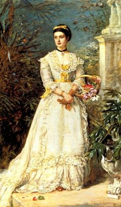 """artfortheages: """"Marchioness of Huntly by John Everett Millais - 1870 (Tate Collection, London) """""""