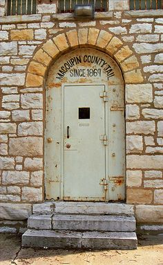 """Route 66 - Located in Carlinville, Illinois, this old jailhouse held lawbreakers from1869 all the way through 1988. And it had only one escape in those 119 years! """"The Fine Art Photography of Frank Romeo."""""""