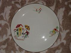 Vintage Alfred Meakin Plate   Nice  pattern