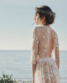 WEBSTA @ festivalbrides - Sheer elegance Via • @loveratoryDress •…