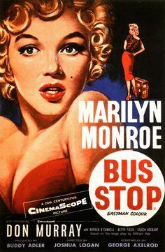Bus stop (1956) EEUU. Dir: Joshua Logan. Drama. Comedia. Romance - DVD CINE 606-I e DVD CINE 662