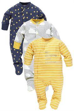 Daydream sleepsuits three pack Estilos Para Niños 29eb41f29d2