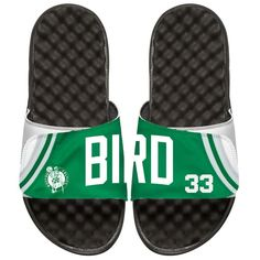 Larry Bird Boston Celtics ISlide Youth Retro Jersey Slide Sandals