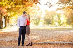 fall engagement shoot. Great outfits, scenery, composition. LOVE Fall!