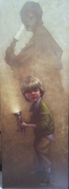 Star Wars: In a Backyard Far Far Away Series - Luke Skywalker by Craig Davison *