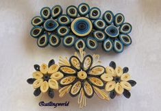 Step By Step Guide On How To Make Paper Quilling Flowers – Quilling Techniques Quilling Dolls, Paper Quilling Flowers, Paper Quilling Jewelry, Quilling Earrings, Quilling Patterns, Quilling Designs, Paper Jewelry, Paper Beads, Quilling Ideas