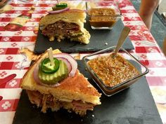 National Corrnbread Festival's Winning recipes: Cornbread Cuban Sandwiches with Mojo Sauce took second
