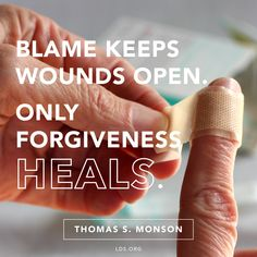 Forgiveness Heals - The Daily Quotes Lds Quotes, Uplifting Quotes, Religious Quotes, Daily Quotes, Inspirational Quotes, Spiritual Inspiration, Life Inspiration, Spiritual Church, Greatest Commandment