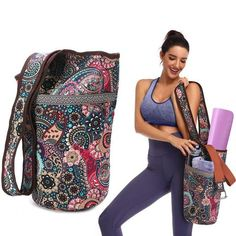 Yoga Mat Bag Casual Fashion Canvas Yoga Bag Backpack With Large Size Z – Lassgirl Shoulder Gym, Shoulder Strap, Yoga Outfits, Yoga Mat Bag, Yoga Fashion, Casual Bags, Aliexpress, Backpack Bags, Fashion Bags