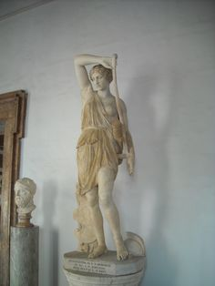 Wounded Amazon - Musei Capitolini, Rome, Phidian style, physical prowess