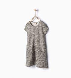 Imagen 1 de Vestido cremallera de Zara