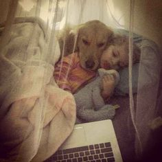 And when these two cuddled up to watch a movie together.