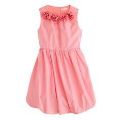 Girls' petal poplin dress - blues - Crewcuts_Dressed_Up - J.Crew