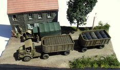 Diorama, Outdoor Furniture Sets, Outdoor Decor, Old Trucks, Division, Military Vehicles, Ww2, Miniatures, Models