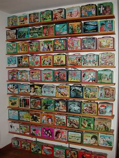 vintage lunchbox collection (flickr) - photo via Campbells Loft fb page