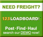 Find truck freight at 123loadboard.com