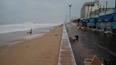 Ocean City boardwalk after Hurricane Sandy (Photo credit: U.S. Army Corps of Engineers-Baltimore District)