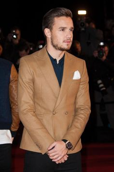 Liam on the red carpet at the NRJ Music Awards tonight! Liam James, Liam Payne, Nrj Music, Members Of One Direction, One Direction Pictures, To My Future Husband, Celebrity Crush, Love Of My Life, My Boys