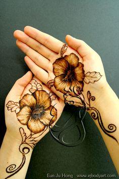 Henna flower by Anju | Flickr - Photo Sharing!