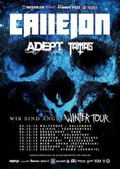 Wir sind Angst Winter Tour -  Callejon + Adept & Tamas @ Frankfurt 13.12.2015