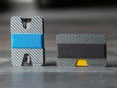 wallet, white carbon fiber