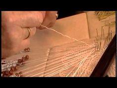 Nancy Today: Bobbin lace making lesson 3 Tombolo crocheta ASMR