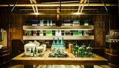 This Sake Brewer Wants to Change the World with Fermentation Japanese Bar, Japanese Landscape, Liquor Store, Store Design, Brewery, Liquor Cabinet, Tours, Storage, Furniture