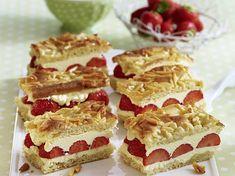 Erdbeer-Bienenstich Rezept