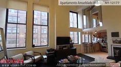 Video tour de un apartamento de un dormitorio dúplex estilo loft en West...