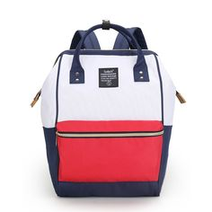 46.49$  Watch now - http://vipcm.justgood.pw/vig/item.php?t=f1rrbzp45938 - SUNBORLS Multifunction Waterproof Casual Preppy Style Bag Oxford Women Backpack