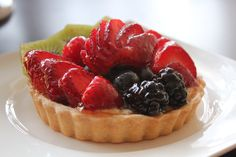 Chef Thomas Cannell's Fruit Tart