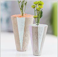 Detaillierte Anleitung Vase aus Kreativ-Beton