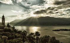 Lago Maggiore / Ronco sopra Ascona, Switzerland (by Ivo Rombaldoni on 500px)