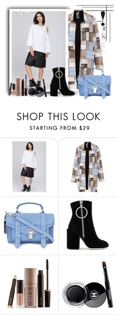 """OwnTheLooks-37"" by autumn-soul ❤ liked on Polyvore featuring Norma Kamali, Proenza Schouler, Off-White, Laura Mercier, Chanel and ownthelooks"