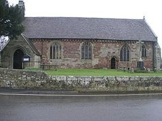 St Mary's Church, Edstaston, Wem, Shropshire.  A chantry was established here in late C15, probably by Richard III