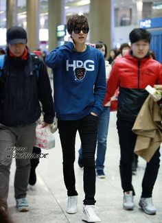 Lee Min Ho @ Incheon Airport back from Sydney, Australia 17.02.2013