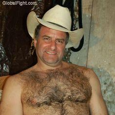 hairychest rancher dad