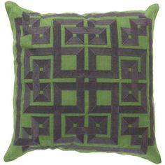 Green and Gray Pillow