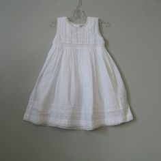 Cotton Kids White Swiss Dot Dress : Designer Classic Clothes Fashions Unique Toys Accessories Cute Pretty Baby Boy Girl Boutique Swimsuits European Christening Gowns Wooden Gifts Gowns Totes Columbus Powell Ohio Dublin Delaware New Albany Westerville Clothing
