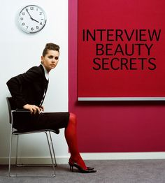 interview makeup cover photo