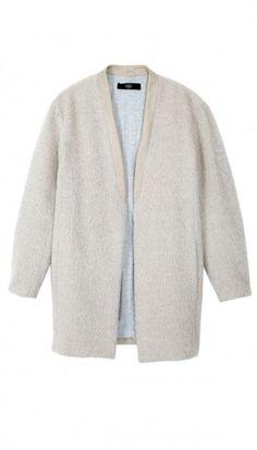 Mohair Cardigan Coat