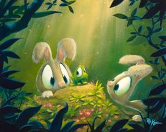 All Hopped Up by Rob Kazart  Check out his website - soooo cute !