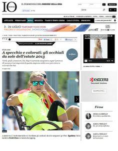 Heidi Klum wearing Spektre sunglasses. - www.vingerhoets-optics.be