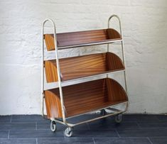 Vintage Industrial Library Trolley - Bring It On Home