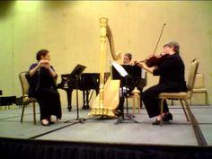 Debussy Sonata for Flute, Viola, and Harp